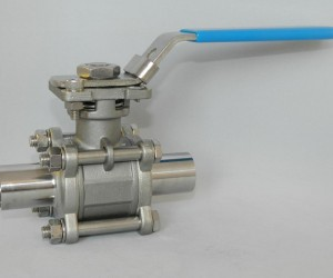 Sanitary-ball-valve