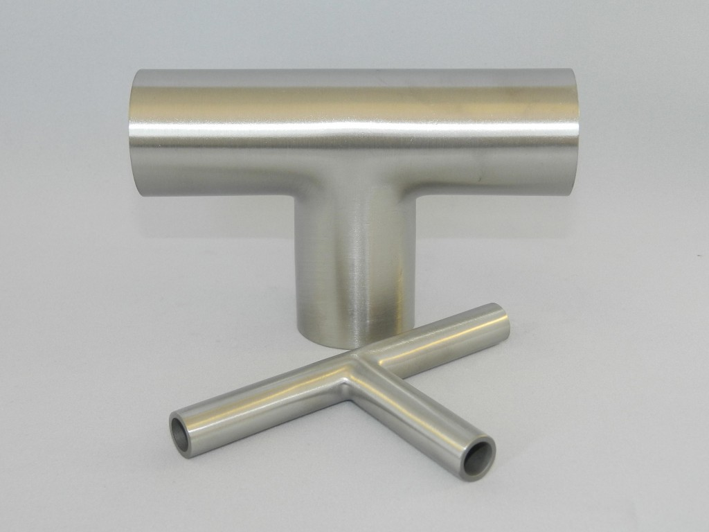 Hygienic Stainless Steel Tees Amp Cross Pieces