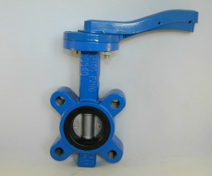 Wafer-butterfly-valve-lugged